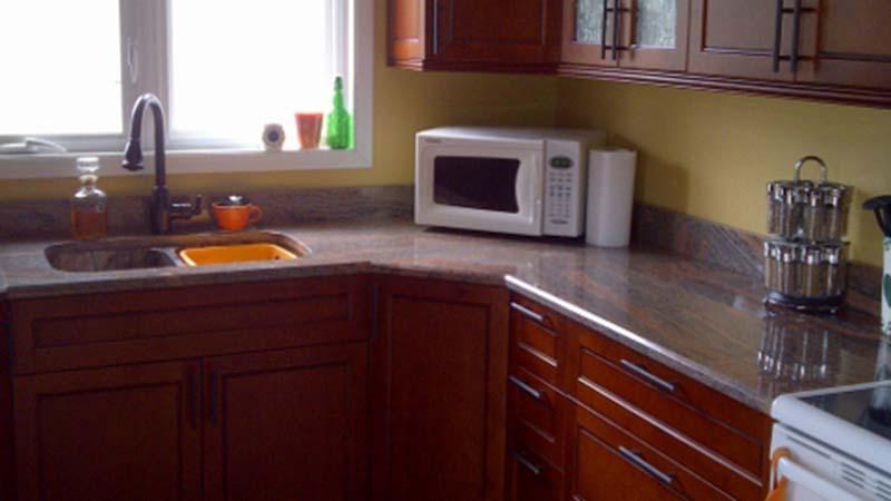 Juparana Red Kitchen Countertop