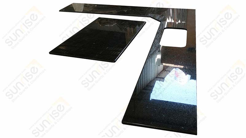 Black Pearl Granite Counters
