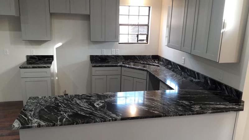 Black Forest Countertop With Sink Cutout