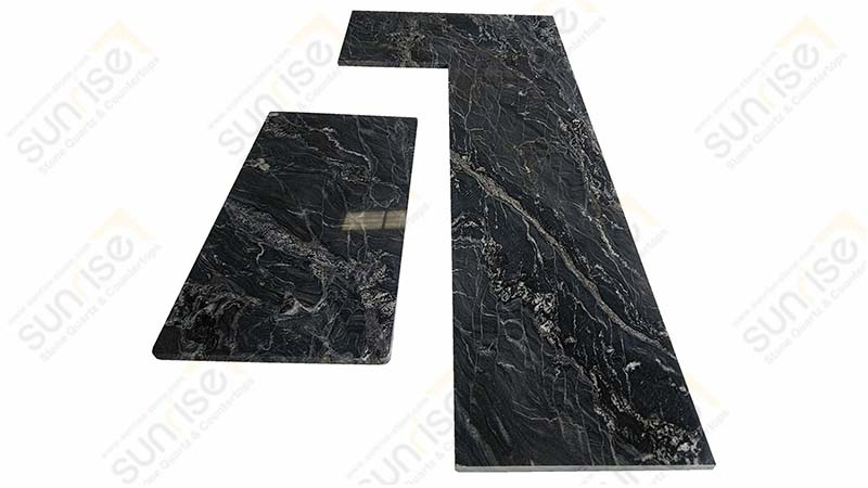 Black Forest L Shape Countertops
