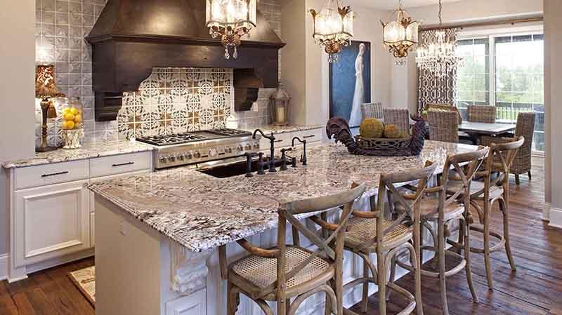 Bianco Antico Kitchen Countertops