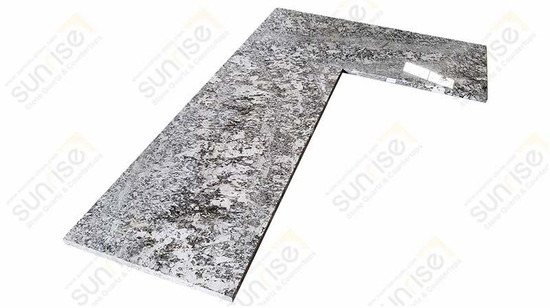 Bianco Antico L Shape Countertops