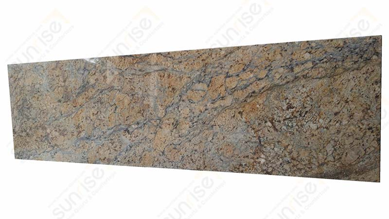 Golden Diamond Prefab Countertop