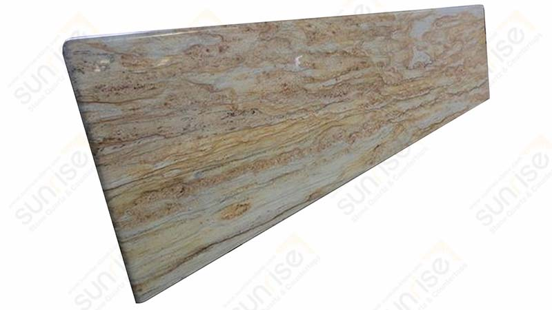 River Yellow Prefab Countertop