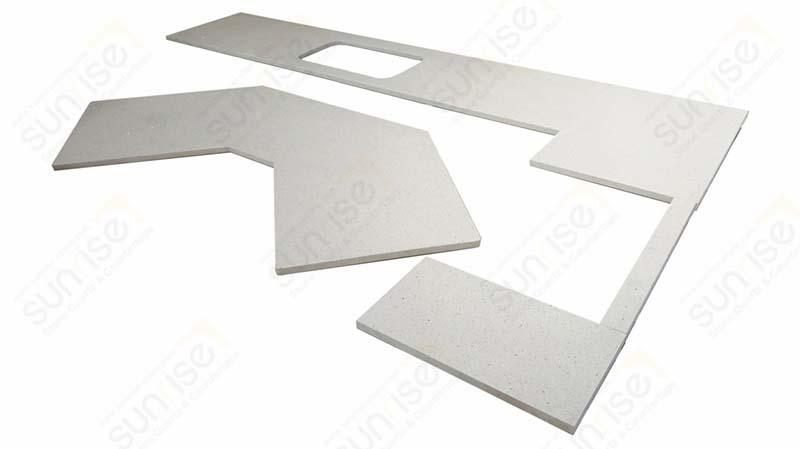 Sparkle White Quartz Table