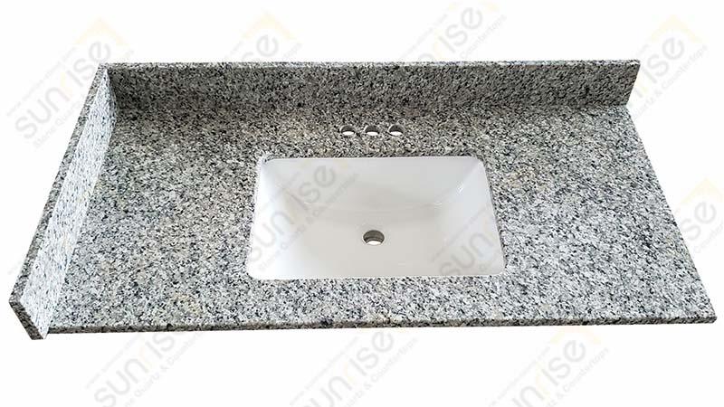 Swan White Bathroom Countertops