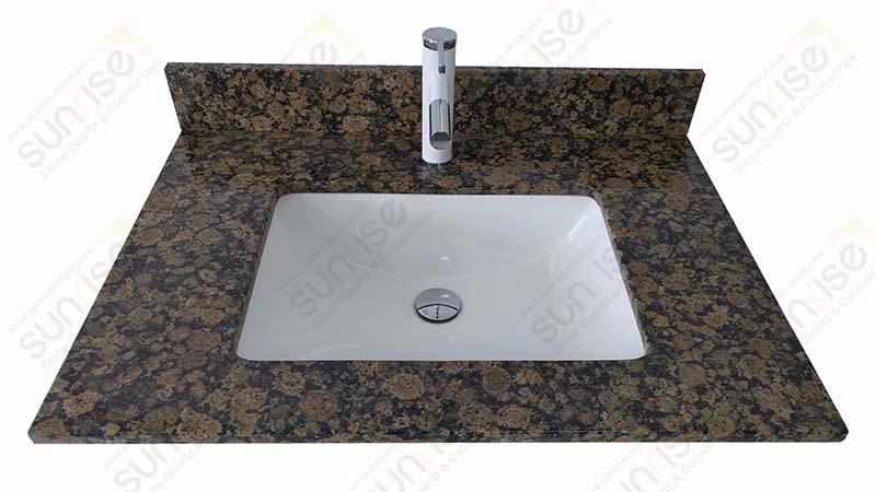 Baltic Brown Granite Vanity Tops