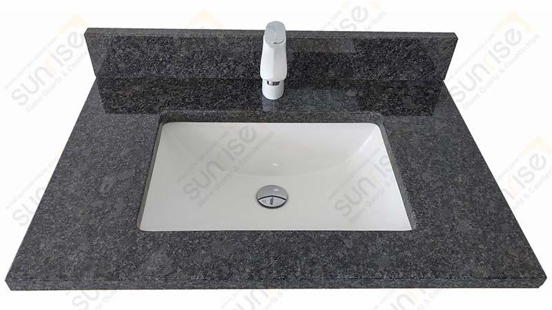 Steel Grey Granite Vanity Tops