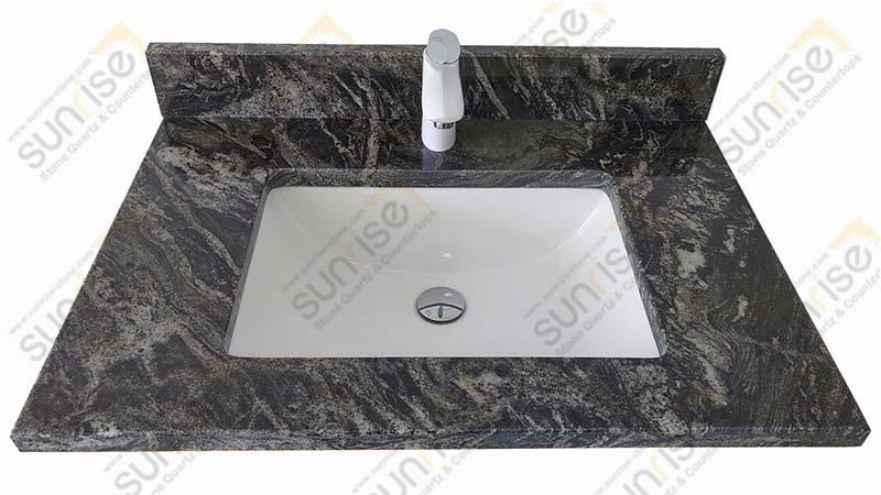 Black Forest Granite Vanity Tops