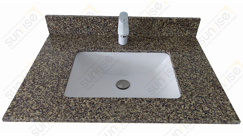 Island Love Quartz Vanity Top