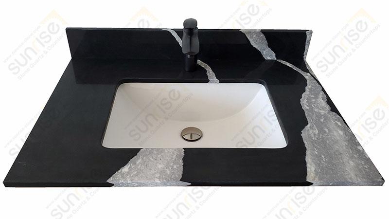 Mersey Quartz Vanity Top