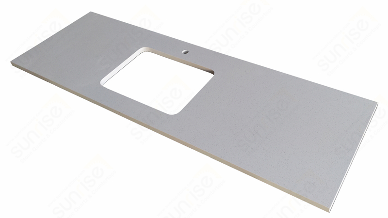 Blanco Maple Quartz For Kitchen Counter