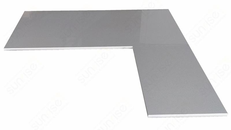 Blanco Maple Quartz Counters